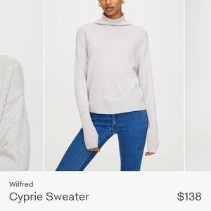 Wilfred Aritzia Cyprie Sweater wool size xsmall